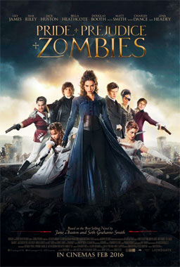 Pride Prejudice And Zombies 2016