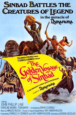 The Golden Voyages of Sinbad 1975